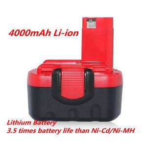 Smart Charger for Bosch Power Tool 7.2V 9.6V 12V 14.4V 18V 24V NiCd NiMh Battery