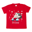 New-Kids-Christmas-Xmas-T-Shirt-Tee-Tops-100-Cotton-Boys-Girls-Gift-Red-White thumbnail 18