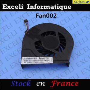CPU-Ventilador-4-Pines-5V-Para-HP-Pavilion-G6-2000-Serie-683193-001-055417R1S