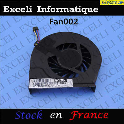 ventilateur pavilion pâte 2000 2000 new Genuine cpu hp G6 G7 thermoconductrice zg8Yq
