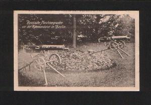 Kriegskarte-Russ-Maschinengewehre-Beutewaffen-in-Berlin-ca-1915-6