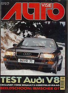 Berichte & Zeitschriften Süß GehäRtet 1988 Autovisie Magazin 26 Audi V8 Renault 5 Galant Gti-16v Ferrari Maserati Schmerzen Haben Auto & Motorrad: Teile