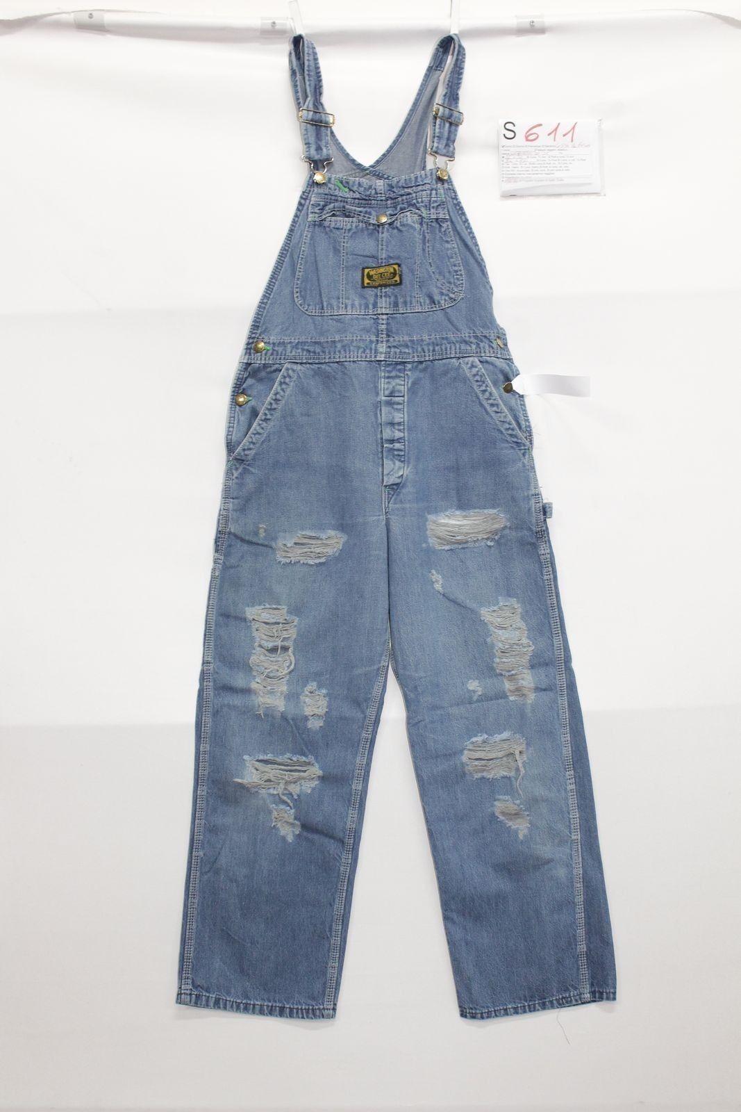 Salopette Washington jeans dee eec avec rupture boyfriend jeans Washington Cod.S611 Taille W32 6dd404
