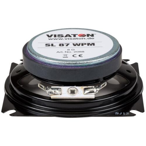 "Visaton SL87WPM-8 3.3/"" Full-Range Speaker 8 Ohm"