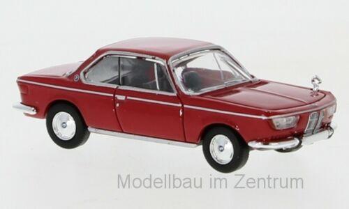 Premium ClassiXXs 1:87 870028 1965 BMW 2000 CS NEU! rot