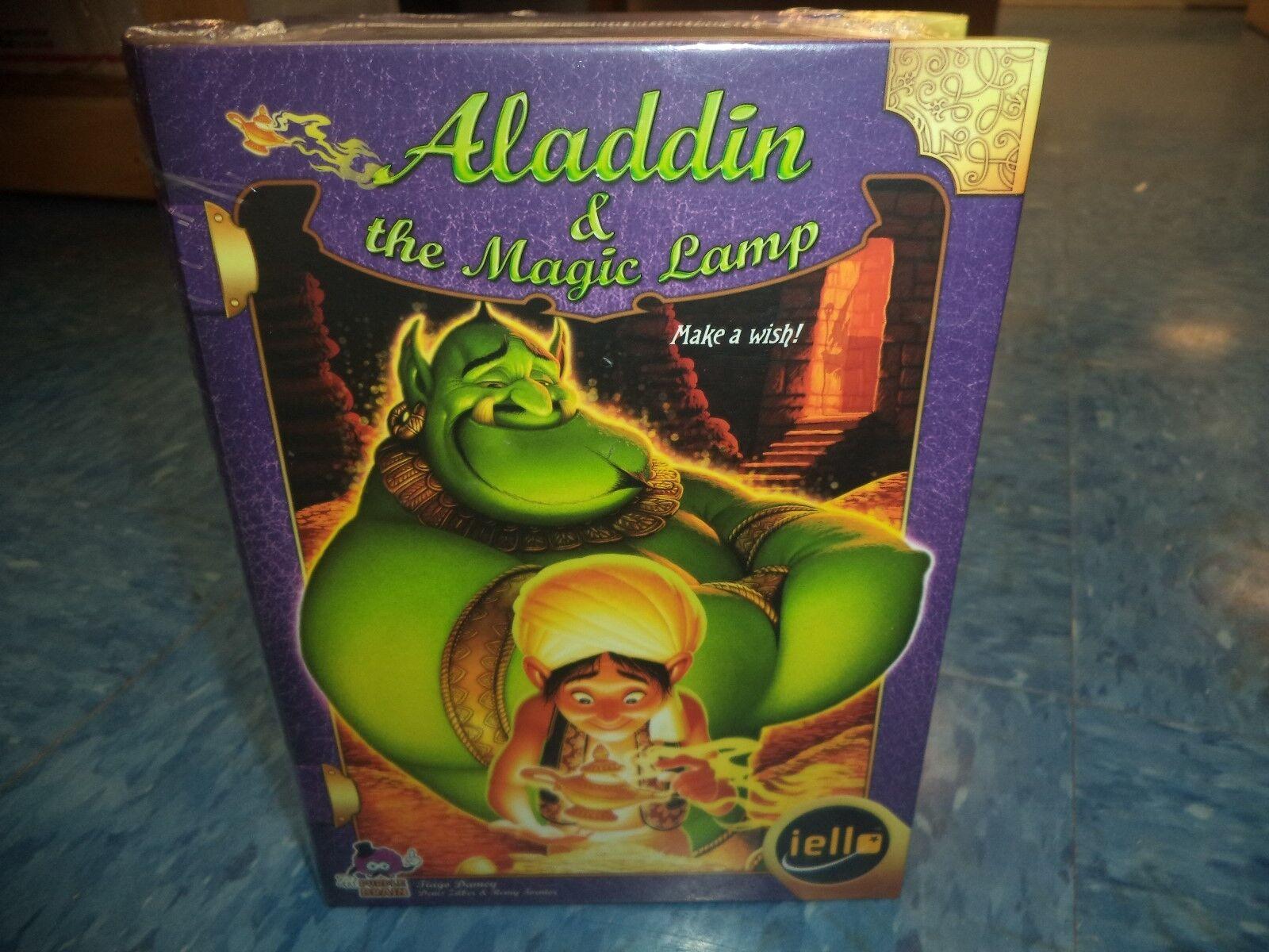 Tales & Games  Aladdin & The Magic Lamp - Iello Games Board Game New