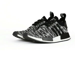 9a1109867 Image is loading Adidas-NMD-R1-PK-Primeknit-Casual-Shoes-Black-