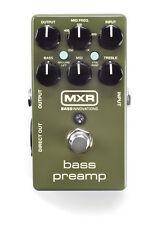 MXR M-81 Bass Preamp pedal