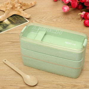 Etonnant Image Is Loading 3 Tier Portable Microwave Bento Lunch Box Picnic