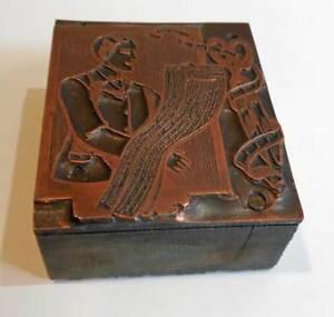 antique-Vintage-PRINTING-PLATE-TAILOR-copper
