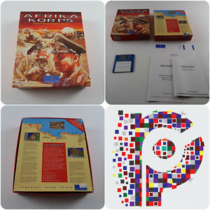 Afrika-Korps-A-Impressions-Game-for-the-Commodore-Amiga-Computer-tested-amp-working