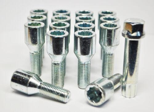 16 x M12 x 1,25 filettatura 28mm sintonizzatore Bulloni Con Chiave
