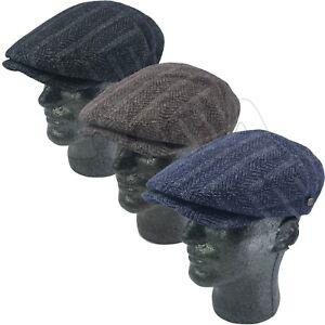 Details about 100% Wool Men s Tweed Cabbie Newsboy Paperboy Snap Brim Flat  Ivy Hat Cap IV3046 fddf3929c06
