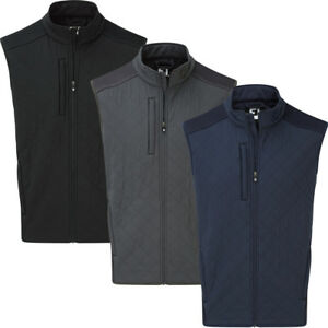 ea03aa99efab Image is loading FootJoy-Mens-Fleece-Quilted-Thermal-Golf-Vest-Gillet
