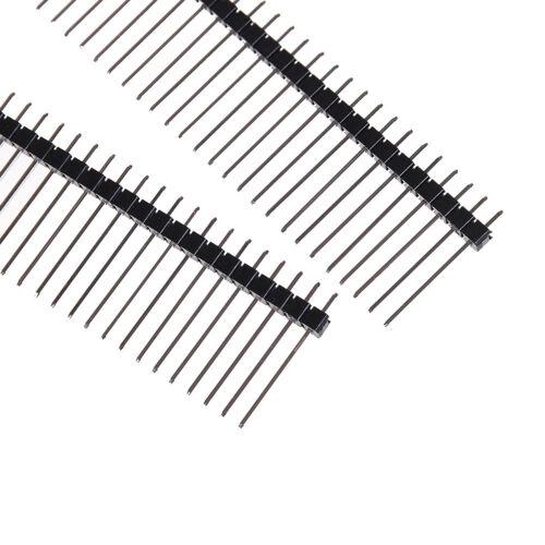 10PCS Single Row 1*40 40Pin 2.54mm 1X40 19mm Height Long Breakable Pin Header SF