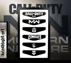 Call Of Duty Modern Warfare Ps4 Controller Light Bar 6x Vinyl Decal Playstation Ebay