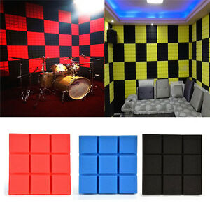 Acoustic wall panel soundproof deadening foam pads for Sound proof wall padding
