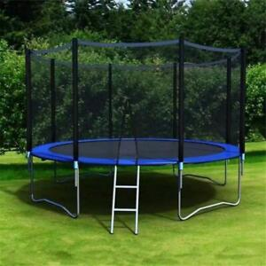 6 8 10 12 14 16 Replacement Trampoline Safety Net And Spring Cover Padding Pads