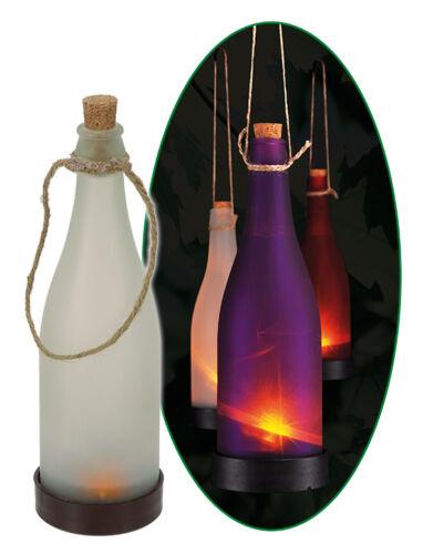 LED Solarleuchte Flschenlampe Gartenlampe Gartendeko Flaschenlicht Leuchtflasche
