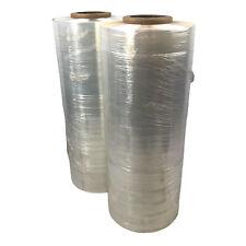 20 X 5000 Feet Plastic Stretch Wrap Film Pallet Machine 63 Gauge Clear 2 Rolls