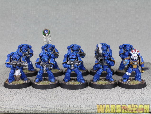 Warhammer 40K WDS painted The  Horus Heresy Mark IV Space Marines d53  choix à bas prix