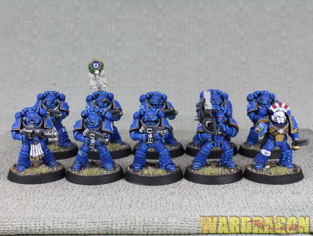 Warhammer 40K WDS painted The Horus Heresy Mark IV Space Marines d53