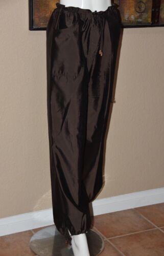 42 Tie Brun Ankel Størrelse 12 Pant Silk Slouchy Escada tqEF00