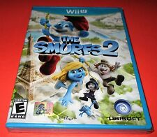The Smurfs 2 Nintendo Wii U *Factory Sealed! *Free Shipping!