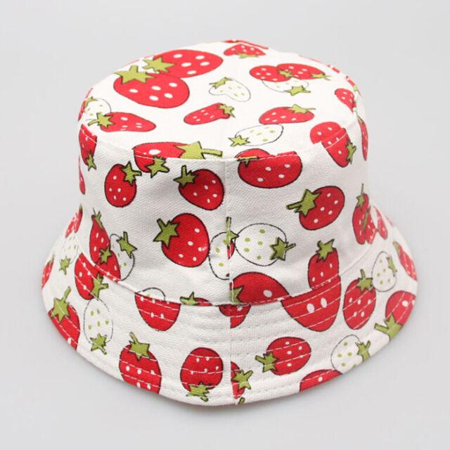 Toddler Boy Girl Baby Kids Bucket Hat Summer Cap Beach Sun Outdoor Bonnet Beanie