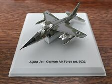 Rare Alpha Jet German Air Force - 5032 - Scale 1:100 W/ Display Case