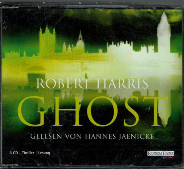 Robert Harris: Ghost. 6 CDs. Neu