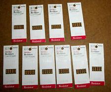 Radio Shack Resistor Lot 270 330 470 560 Amp 1k Ohm 12 Watt 5 Tolerance