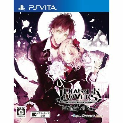 Used PS Vita DIABOLIK LOVERS LIMITED V EDITION for Japan Import