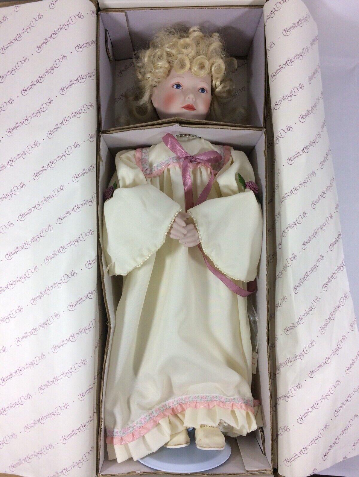 Hamilton Heritage A Gilt Of Beauty - Cyrus Porcelain Doll 1992