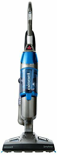 NEW Bissell 1132A Symphony All in One Vacuum and Steam Mop 4 Mop Pads Included