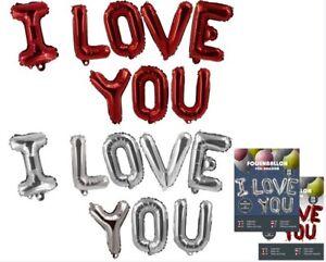 I-LOVE-YOU-Folienballons-ROT-Hochzeitsdeko-XXL-Ballons-Folienballon-35cm-hoch
