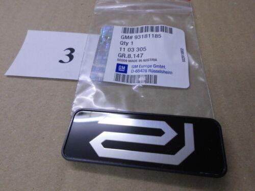 "Emblem//logo /""R/"" Riviera opel zafira a 93181185//1103305 original Opel"