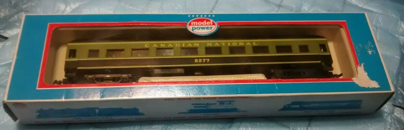 Nuevo En Caja Model Power 9906 67' nacional canadiense Harriman entrenador coche 5277 Escala Ho