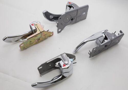 Chrome Door Catch Handle Genuine Parts 4EA For KIA SORENTO 2003-2009