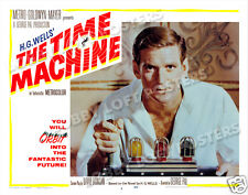 THE TIME MACHINE LOBBY SCENE CARD # 9 POSTER 1960 ROD TAYLOR
