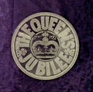 1887-Queen-Victoria-Golden-Jubilee-Commemorative-glass-plate