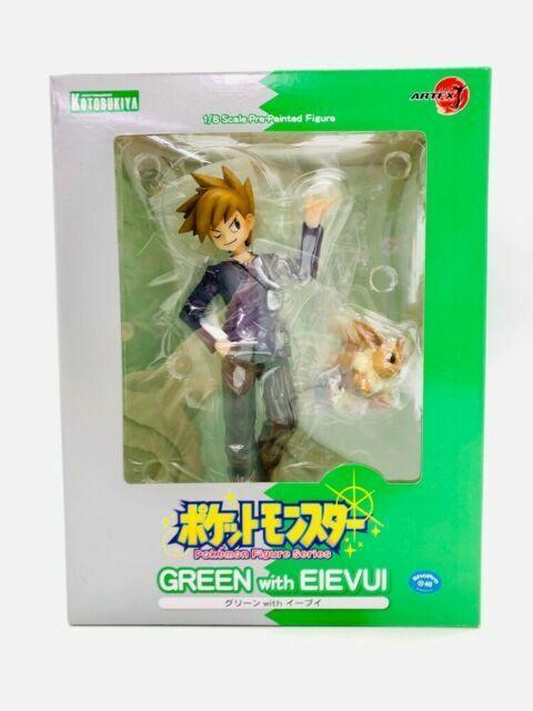 ARTFX J Pokemon Series Green With Eevee PVC Figure New In Box