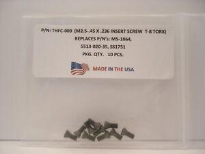 5513-020-35 . CSPB-2.5 . 10 Pieces THFC-009 Insert Screw: MS-1864 . SS1751