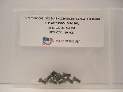 5513-020-01 . PT-781T ..191.698 MS-1156 . 100 Pieces THFC-008 Insert Screw