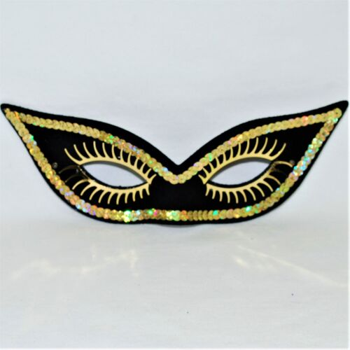 Sequin Eye Mask Halloween Masquerade Ball Fancy Dress Italian Venetian Carnival