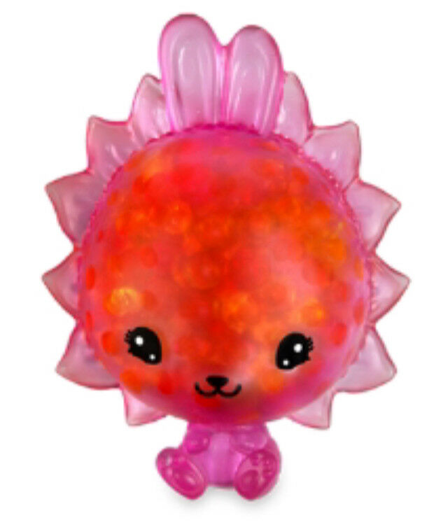 Slime Figure Approx Orb 35586 Bubbleezz Super Squezze Figure Irene Ice Cream Enchanting Squeezy Toy Glibber Squeezy Toy for Squeezing 20cm Slime Squeeze Figure for Ages 8 and Up Strawberry Red