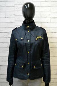 BARBOUR-Trench-Blu-Donna-Taglia-M-Giubbino-Giacca-Impermeabile-Jacket-Woman