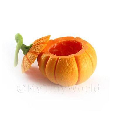 Dolls House Miniature Open Top Pumpkin