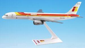 iberia airlines boeing 757 200 desk model ebay