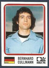 PANINI WORLD CUP STORY #065-MUNICH 74-DEUTCHSLAND-BRD-GERMANY-BERNHARD CULLMANN